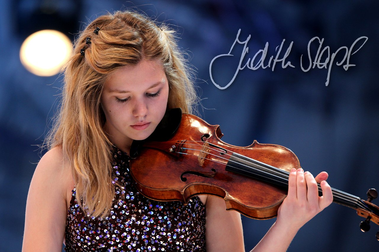 Judith Stapf beim Eurovision Young Musicians 2014